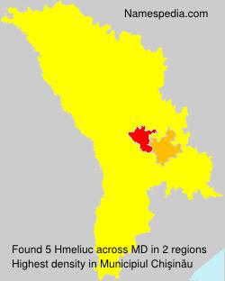 Familiennamen Hmeliuc - Moldova