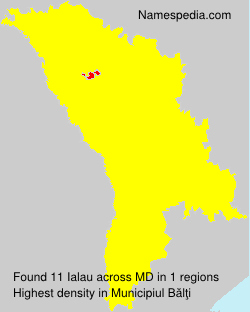 Familiennamen Ialau - Moldova
