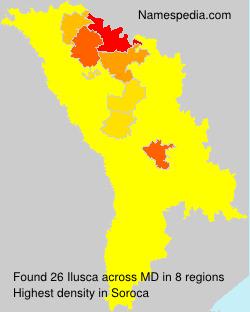 Surname Ilusca in Moldova