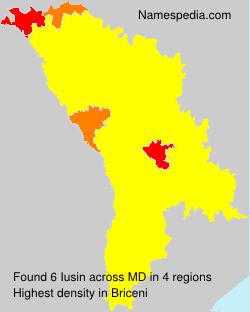 Surname Iusin in Moldova