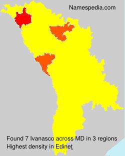 Surname Ivanasco in Moldova
