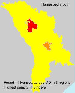 Surname Ivancea in Moldova