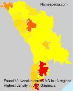 Surname Ivanciuc in Moldova