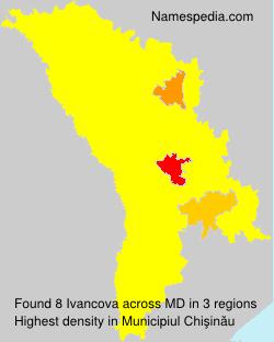 Familiennamen Ivancova - Moldova