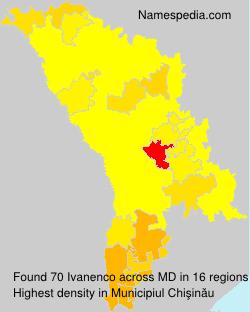 Surname Ivanenco in Moldova