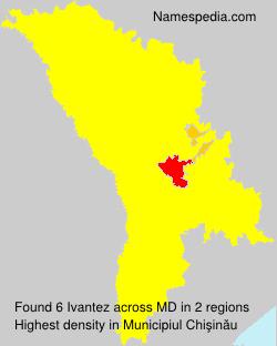Surname Ivantez in Moldova