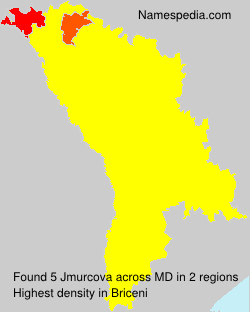 Surname Jmurcova in Moldova