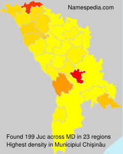 Surname Juc in Moldova