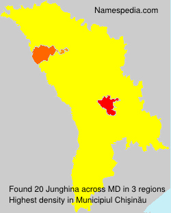 Surname Junghina in Moldova