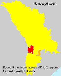 Lavrinova
