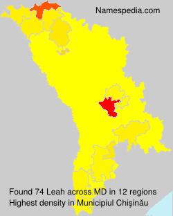 Surname Leah in Moldova