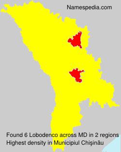 Surname Lobodenco in Moldova