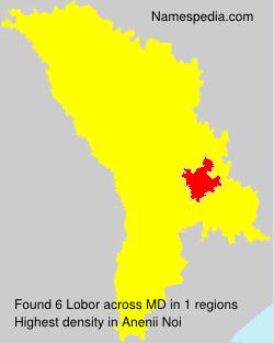 Surname Lobor in Moldova