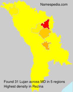 Familiennamen Lujan - Moldova