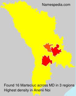 Surname Marteciuc in Moldova
