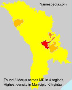 Familiennamen Marus - Moldova