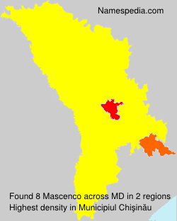 Surname Mascenco in Moldova