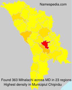 Familiennamen Mihalachi - Moldova