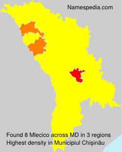 Surname Mlecico in Moldova