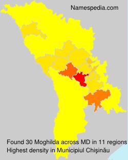 Surname Moghilda in Moldova
