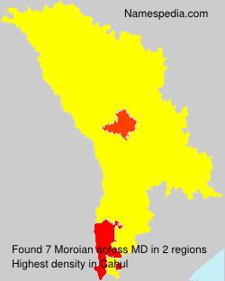 Familiennamen Moroian - Moldova