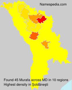 Surname Murafa in Moldova