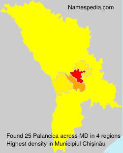 Surname Palancica in Moldova
