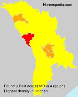 Surname Palit in Moldova