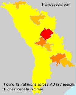 Surname Patriniche in Moldova