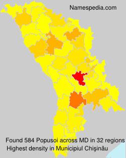 Surname Popusoi in Moldova