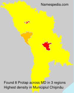 Familiennamen Protap - Moldova