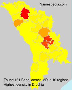 Surname Rabei in Moldova