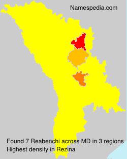 Surname Reabenchi in Moldova