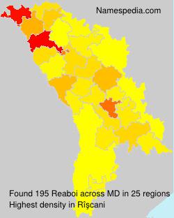 Surname Reaboi in Moldova