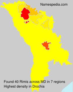 Surname Rimis in Moldova