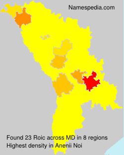 Surname Roic in Moldova