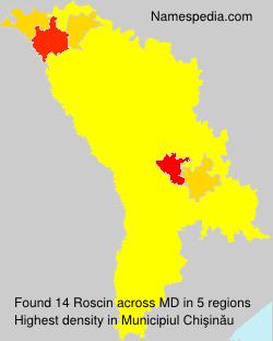 Surname Roscin in Moldova