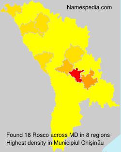 Surname Rosco in Moldova
