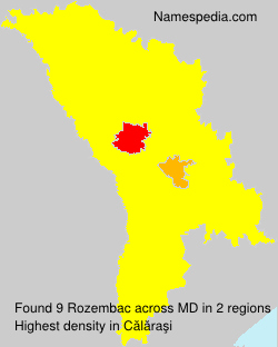 Surname Rozembac in Moldova