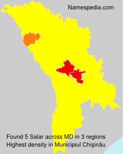 Surname Salar in Moldova