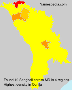 Surname Sangheli in Moldova