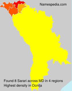 Surname Sarari in Moldova