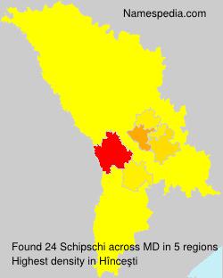 Surname Schipschi in Moldova