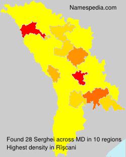 Surname Serghei in Moldova