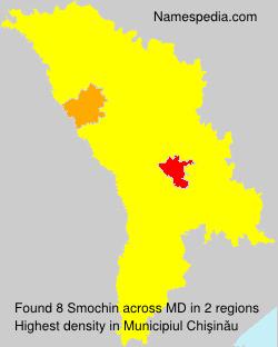 Familiennamen Smochin - Moldova