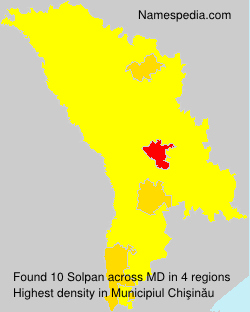 Surname Solpan in Moldova