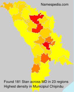 Surname Stan in Moldova