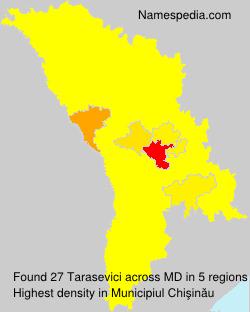 Surname Tarasevici in Moldova