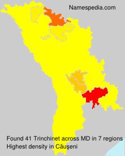 Surname Trinchinet in Moldova