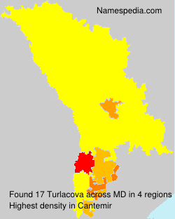 Surname Turlacova in Moldova